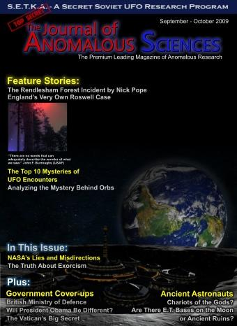 The Journal of Anomalous Sciences