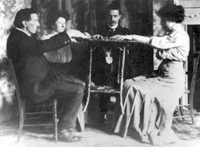 Typical Seance of the Spiritualism Era
